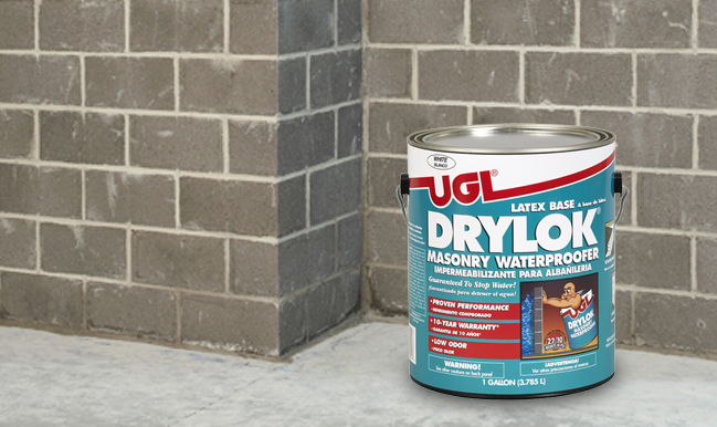 DRYLOK® Latex Masonry Waterproofer