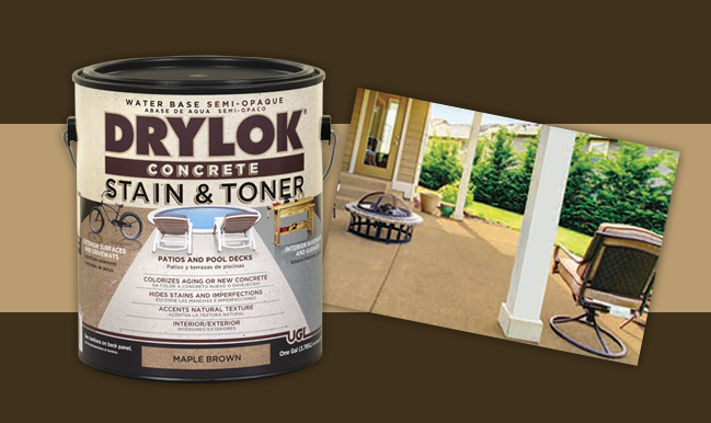 DRYLOK® Concrete Stain and Toner