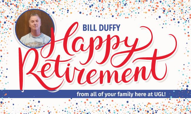 UGL's Bill Duffy Retires