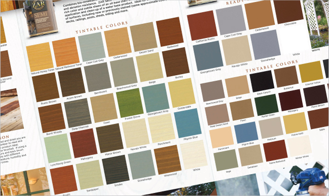 UGL Detailed Product Information Includes Colors and Tints