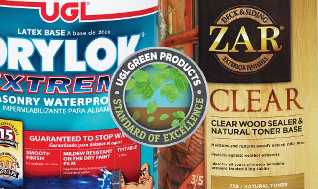 UGL Green Products Standard of Excellence