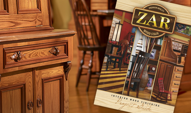 ZAR® Interior Wood Finishing Project Guide