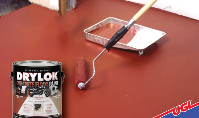 DRYLOK® Latex Concrete Floor Paint comes in many colors