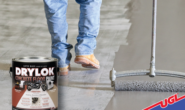 Interior And Exterior Concrete Floors