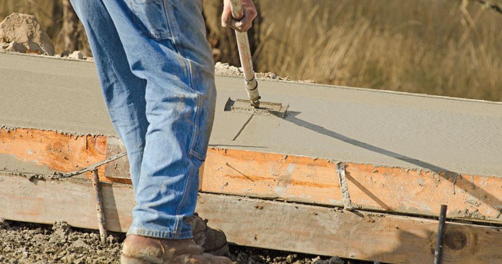 strengthen new concrete driveways sidewalks and steps