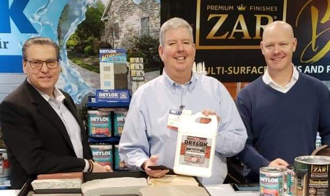 DRYLOK and ZAR Brands IBS Las Vegas